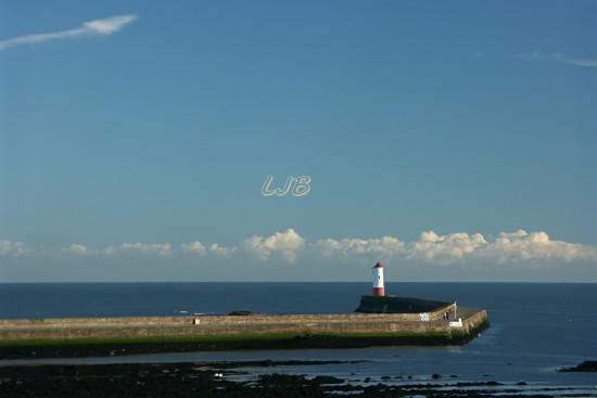 Berwick Pier and Lighthouse