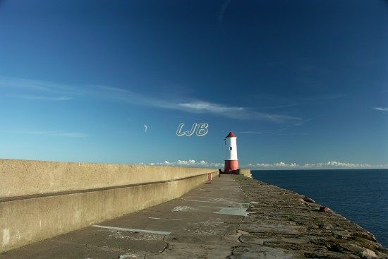 End of Berwick Pier and Lighthouse