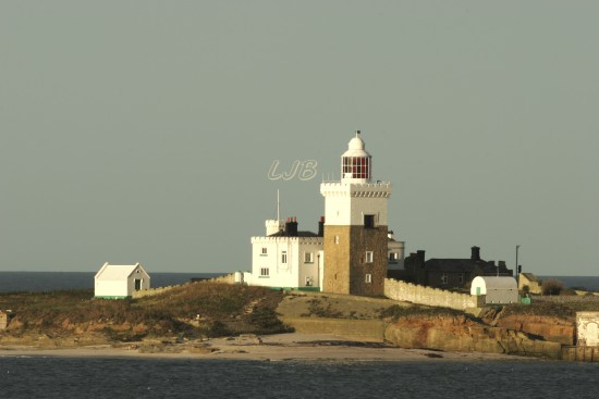 Coquet Island Lighthouse