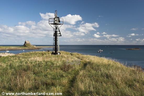 Holy Island Navigation Light.