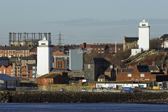 North Shields Upper and Lower Lighthouses, River Tyne