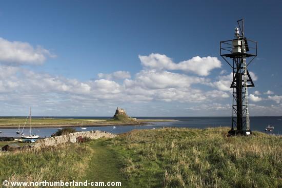 Heugh Hill Lighthouse, Holy Island, Northumberland.