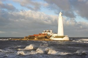 St. Mary's island Lighthouse, Whitley Bay, Tyne & Wear Coast